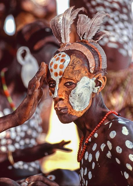 , 'Kara Painted Man, Omo River, Ethiopia,,' 1988, THK Gallery