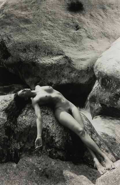 Lucien Clergue, 'Nude in the River, Lago di garda, Italy', 1990, Modernism Inc.