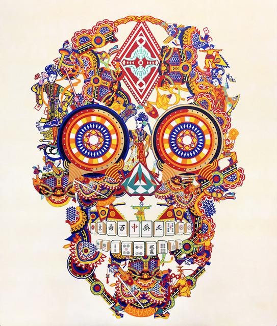 Jacky Tsai, 'Gambling Skull', 2018, Unit London