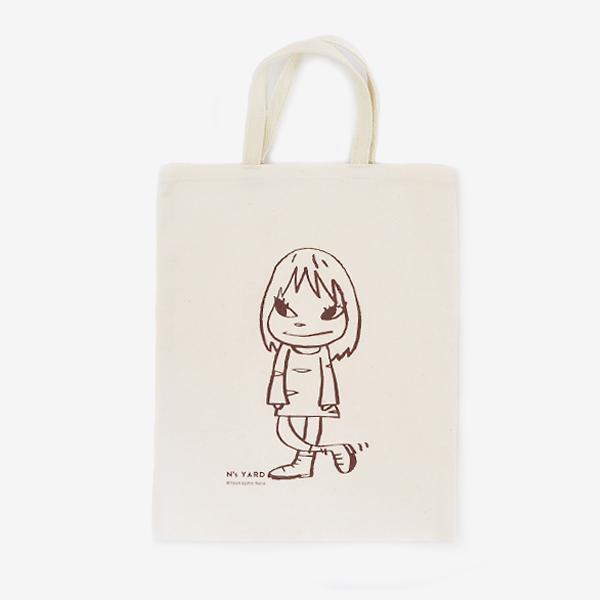 Yoshitomo Nara, 'Tote Bag - Yoroshiku Girl', 2010-2020, Design/Decorative Art, 100% Cotton, Curator Style