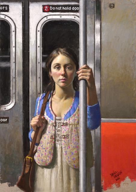, 'Sophie in Transit,' 2016, Gallery Henoch