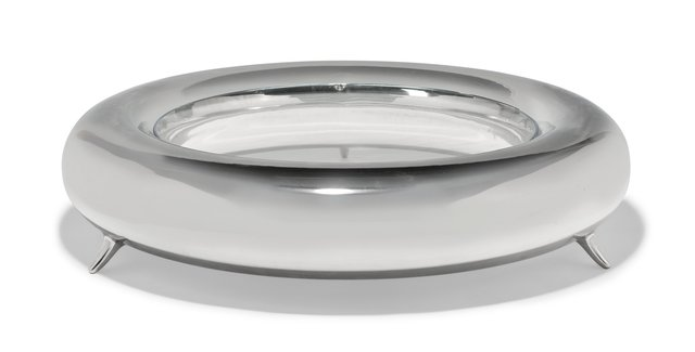 Elizabeth Garouste, 'Ring Table', 1999, Design/Decorative Art, Polished stainless steel, glass, Heritage Auctions
