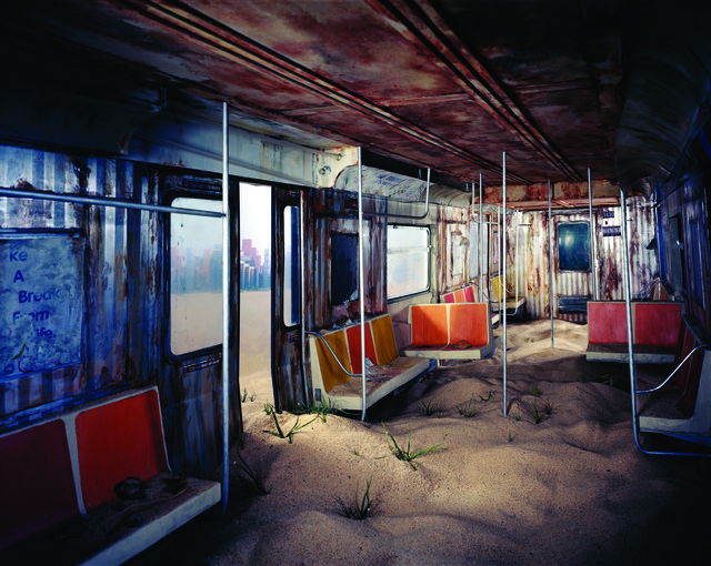 , 'Subway,' 2012, ClampArt