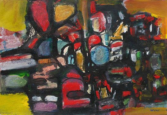 , 'Abstract Composition ,' ca. 1957, Dolan/Maxwell