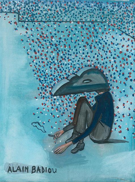 , 'Alain Badiou,' 2016, MLF | MARIE-LAURE FLEISCH