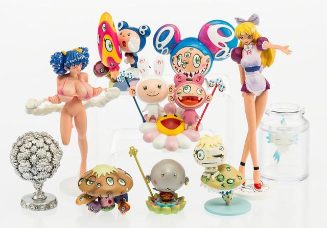 Takashi Murakami, 'Superflat Museum LA Edition Set of 10', 2004, EHC Fine Art Gallery Auction