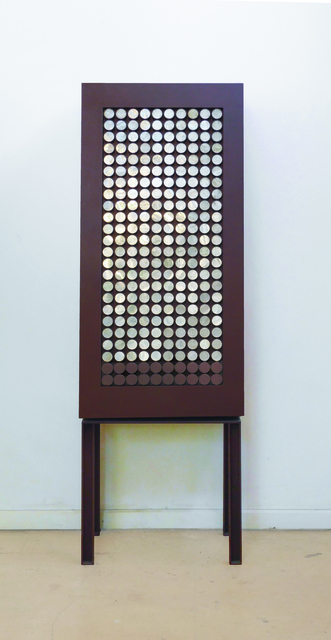 , 'Cabinet with Selenite Circles,' , PILAR CLIMENT