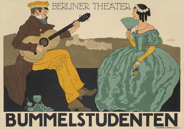 , 'Bummelstudenten,' ca. 1916, Rennert's Gallery