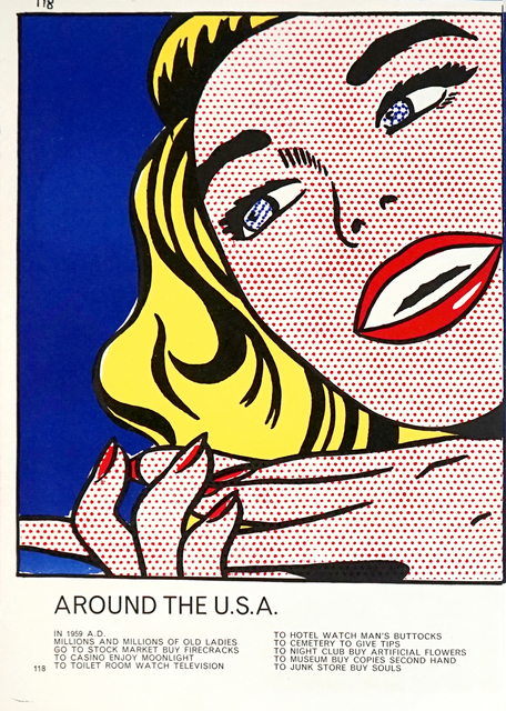 "Roy Lichtenstein, '""Girl"" from One Cent Life  ', 1964, Pascal Fine Art"