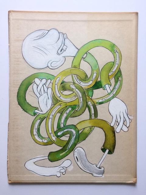 , 'Knot (Tangled Shlooby),' 2018, ZieherSmith