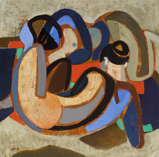 , 'Figure composition,' 2015, Johans Borman Fine Art