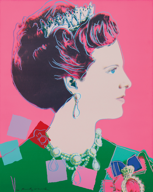 Andy Warhol, 'Queen Margrethe II of Denmark, from Reigning Queens', 1985, Phillips