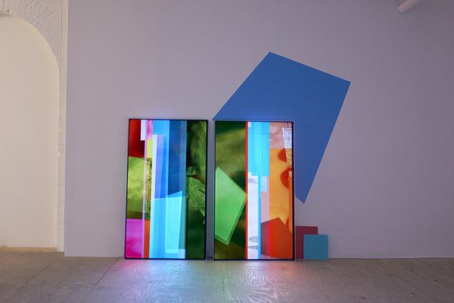 , 'Tesserae 02 & 03,' 2017, Johannes Vogt Gallery