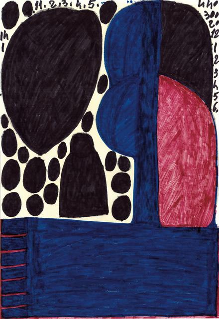 , 'untitled,' 2008, christian berst art brut