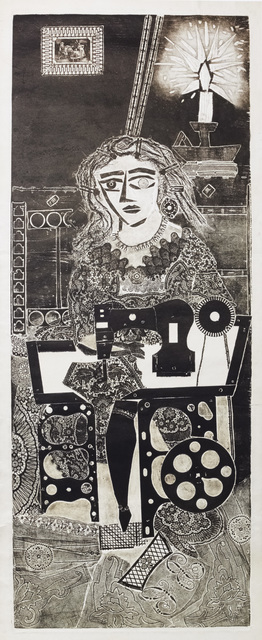 , ' Ramona de Costurera,' 1963, Galeria Sur