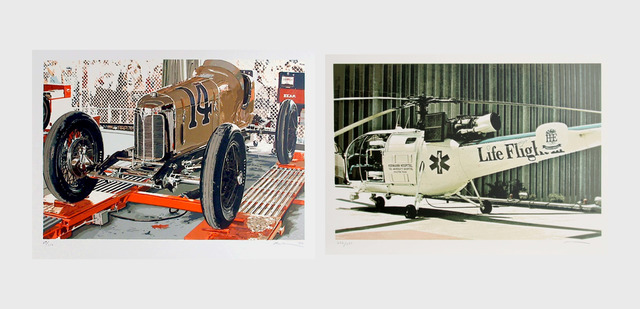 Ron Kleemann, 'Old Indy and Texas Chopper (two works)', 1979-1980, Heritage Auctions