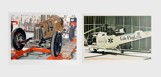 Ron Kleemann, 'Old Indy and Texas Chopper (two works),' 1979-1980, Heritage Auctions: Holiday Prints & Multiples Sale