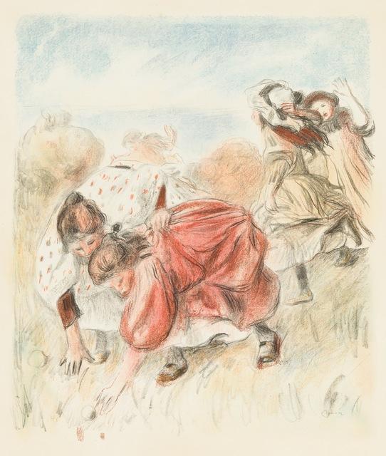 , 'Enfants Jouant a la Balle,' 1898, Galerie d'Orsay