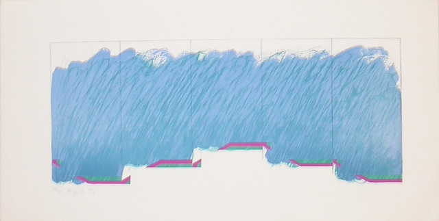 , 'Horizon VI (blue, purple, green),' 1970, Bernard Jacobson Gallery