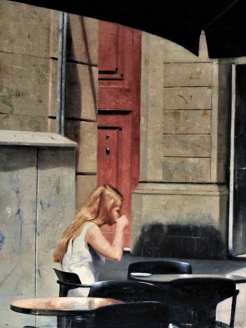 , 'El café,' 2017, Sala Parés
