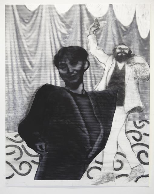 Kon Trubkovich, 'New Arrivals (Study)', 2018, Bronx Museum: Benefit Auction 2018