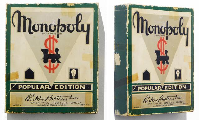, 'circa 1938 Monopoly,' 2009, Clark Gallery
