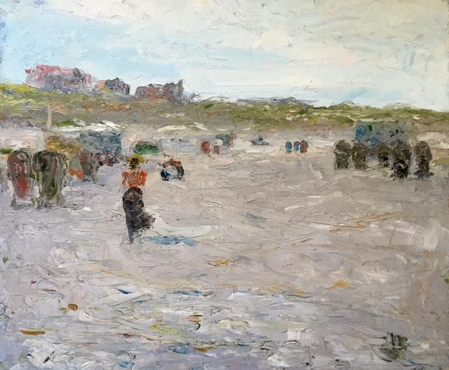 Charles Webster Hawthorne, 'At the Beach', 1898, Bakker Gallery