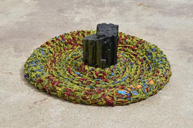 , 'Neste lago tem uma pedra, Turmalina BraFrica (This lake has a stone, Turmalina BraFrica),' 2018, Goodman Gallery