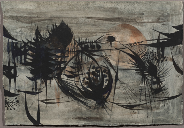 , 'Composition in the Fen,' 1952, Osborne Samuel