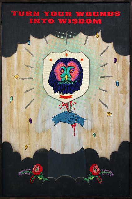 , 'Turn Your Wounds Into Wisdom,' 2015, MASAHIRO MAKI GALLERY