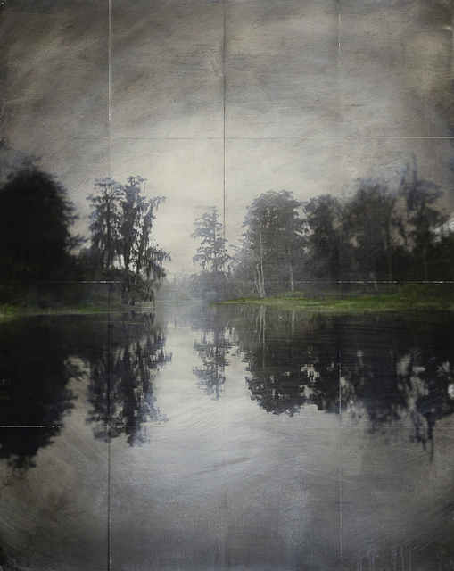 John Folsom, 'Alluvial Whitewash VIII', 2019, HATHAWAY | Contemporary Gallery