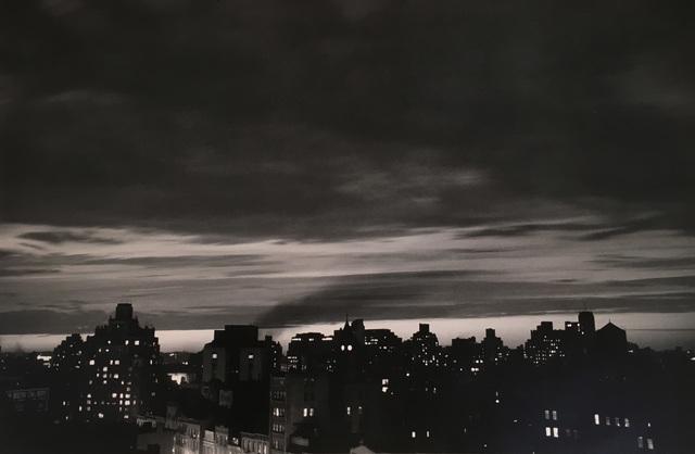 André Kertész, 'Homage to Robert Capa, 1954 (New York Skyline)', 1954, Weston Gallery