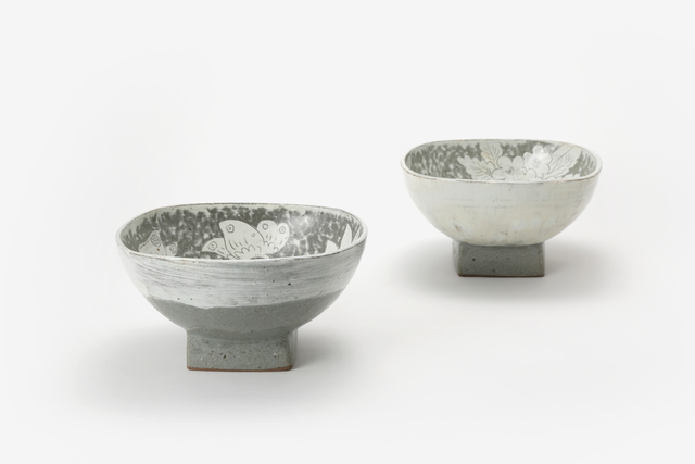 , 'Buncheong Bowls with Peony Design,' , Soluna Fine Art
