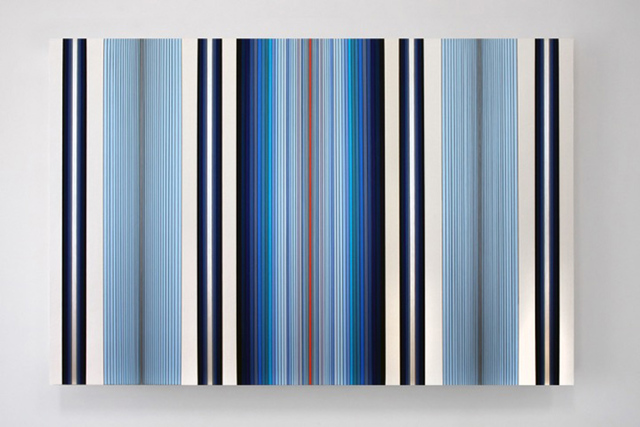 , 'Untitled (Blue Vertical),' 2016, PRAZ-DELAVALLADE