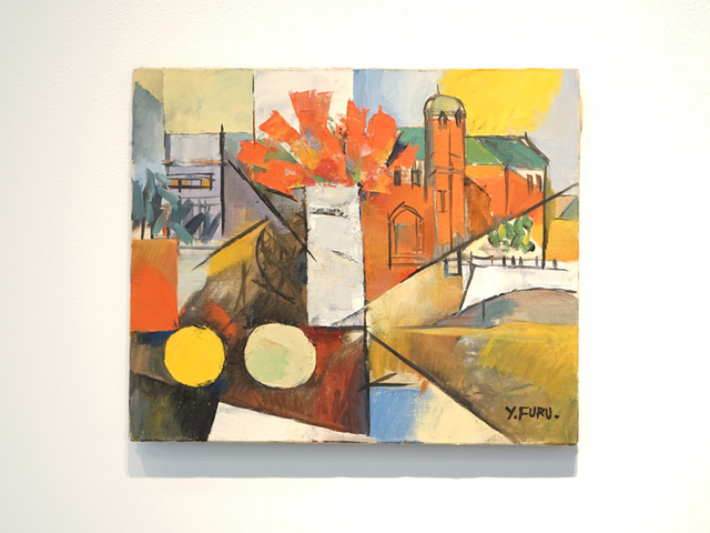 , 'Flowers and Landscape,' 1958, Maus Contemporary