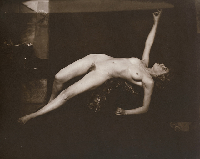 Anonymous Nudes, 'Undraped Reclining Female Nude Pointing Upwards', 1912c/1912c, Contemporary Works/Vintage Works
