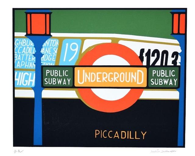 Mario Padovan, 'Piccadilly', 1960, Wallector