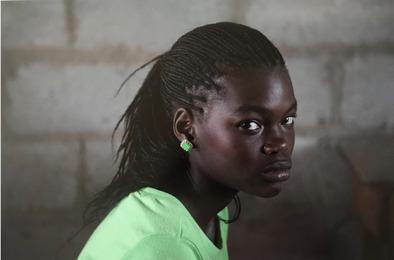 The Mission, Girl in Green, Forte Liberte, Haiti