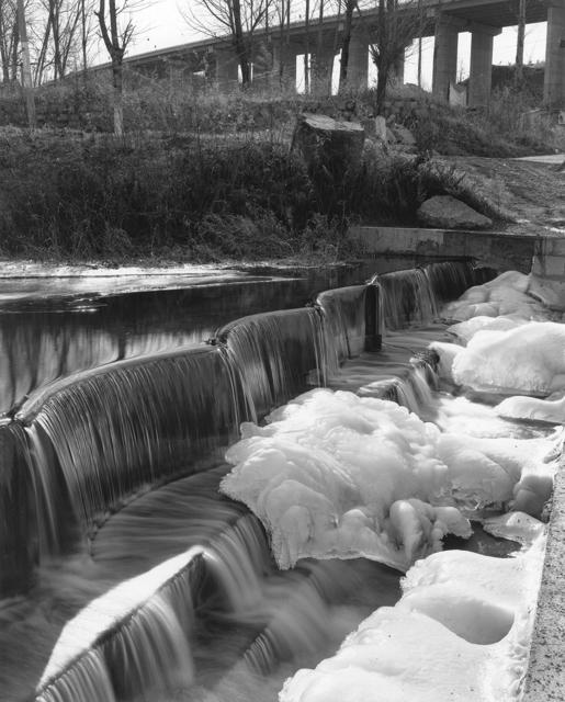 , '堤水化冰 Melting Ice at Dam ,' 2013, C14 Gallery