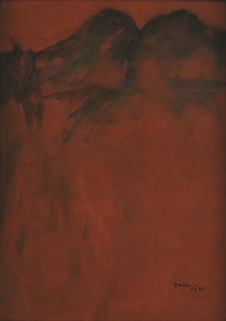 , 'Moutains in red landscape,' 1976, Art Agenda, S.E.A.