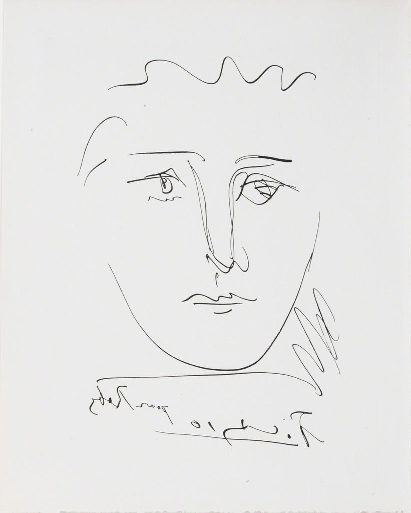 Pablo Picasso   Pour Roby from L\'Age de Soleil (1950)   Available ...