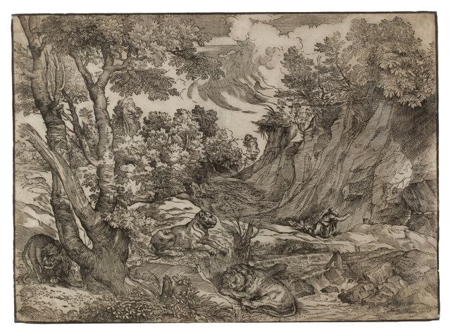 , 'Saint Jerome in the Wilderness,' 1525-1530, Thomas French Fine Art