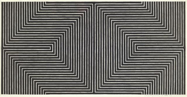 , 'Black Study I,' 1968, Lévy Gorvy