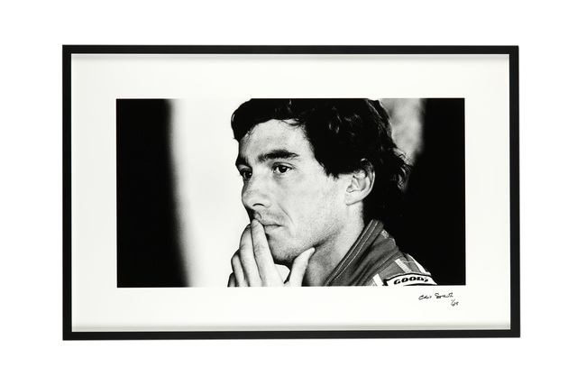 Chris Smith, 'Ayrton Senna', 1991, Chiswick Auctions