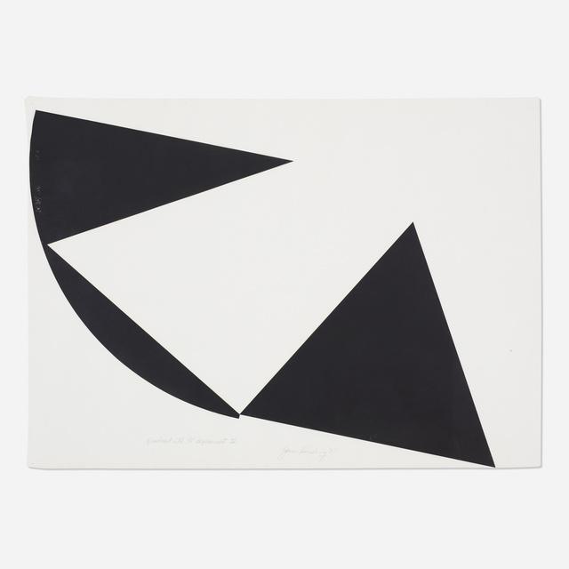 James Reineking, 'Quadrant with 90° Displacement IV', 1975, Wright
