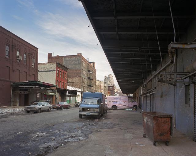 , 'Gansevoort Street, 1985,' 1985, Dillon + Lee