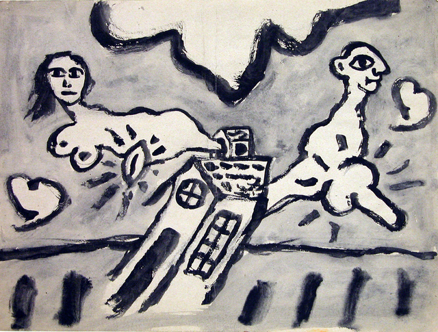 Victor Mira, 'Untitled', Circa 1985, Painting, Mixed media on paper, N2 Galería