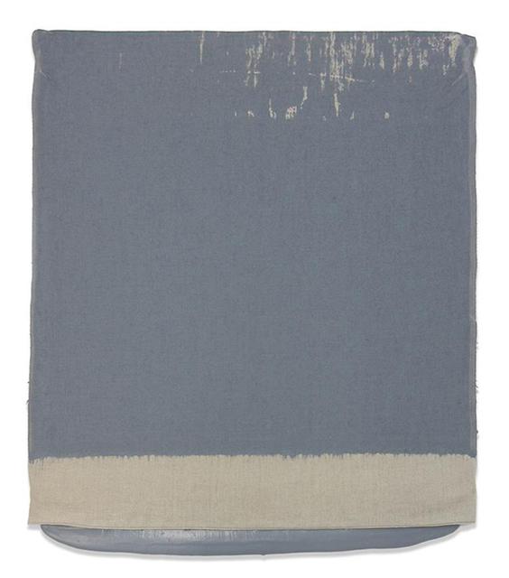, 'Pressed Paint (Middle Gray),' 2017, Gemini G.E.L. at Joni Moisant Weyl