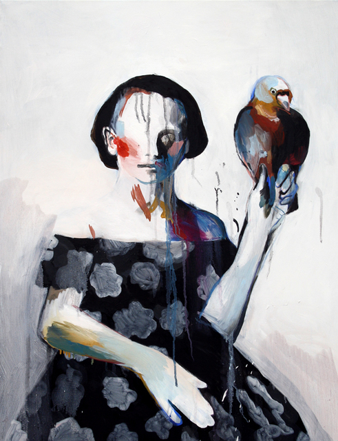 , 'Girl & Pigeon,' 2015, Yiri Arts