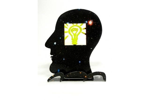 David Gerstein, 'What an Idea!', 2013, Sculpture, Screen printing printed on steel, Collezionando Gallery